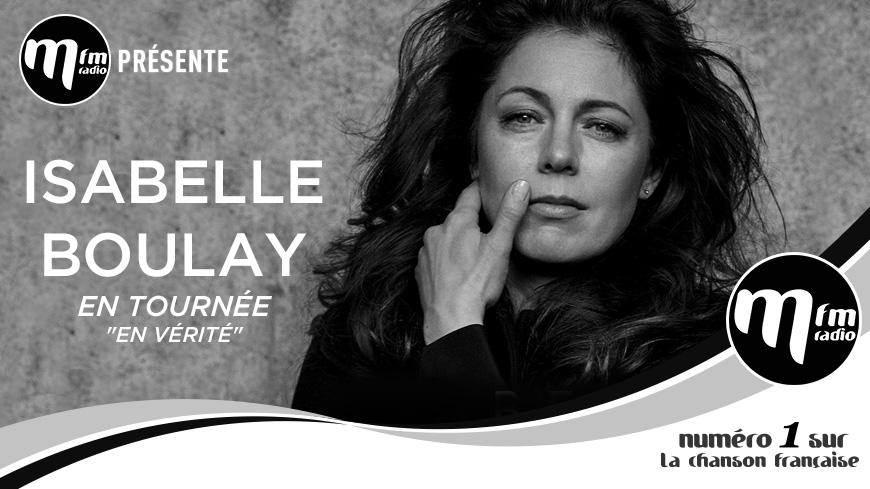 Gagnez vos invitations pour la tournée d'Isabelle Boulay !