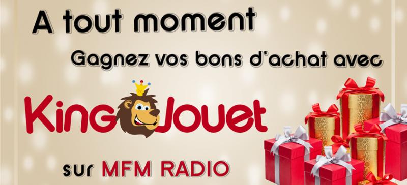 Jusqu'au 24 décembre faites le plein de cadeaux sur MFM Radio...