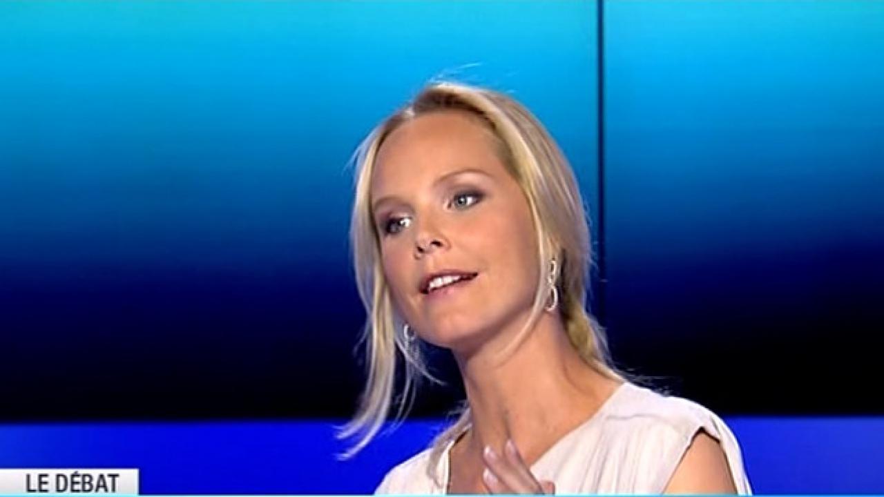 Onpc vanessa burggraf succ dera l a salam - Journaliste femme france 2 ...