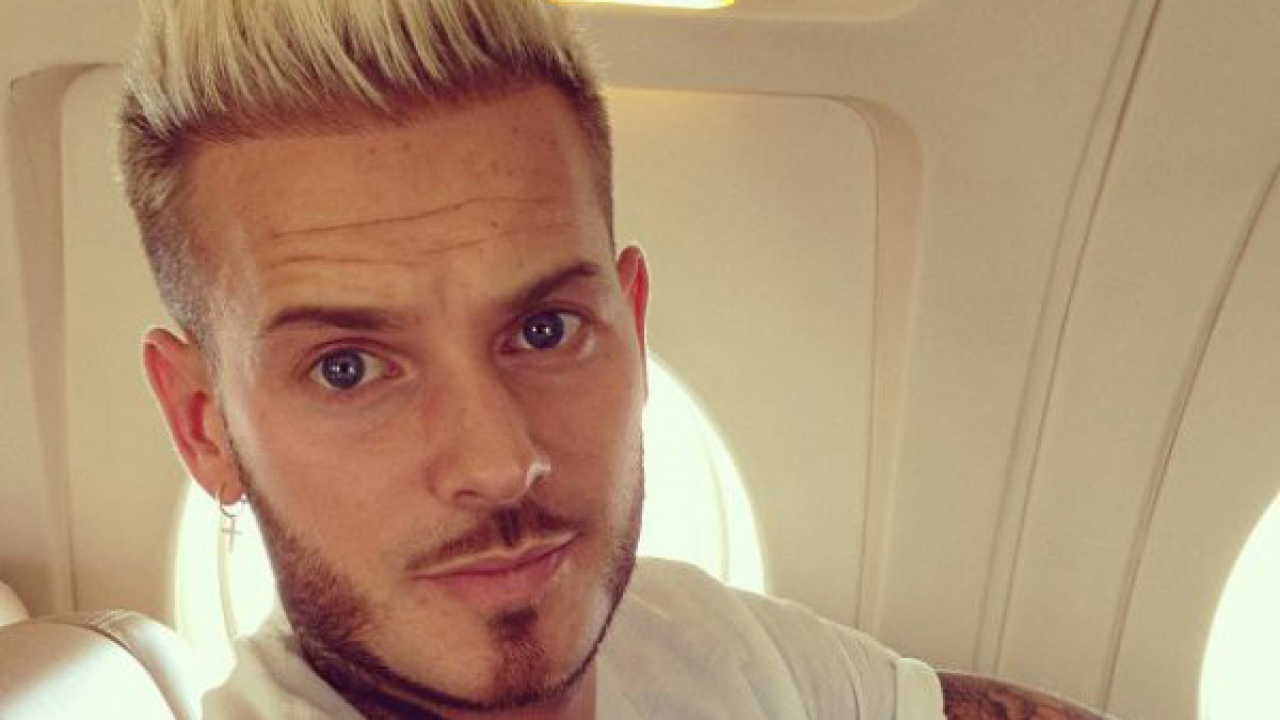 M pokora le teaser de son prochain album vid o - Coloration blond homme ...