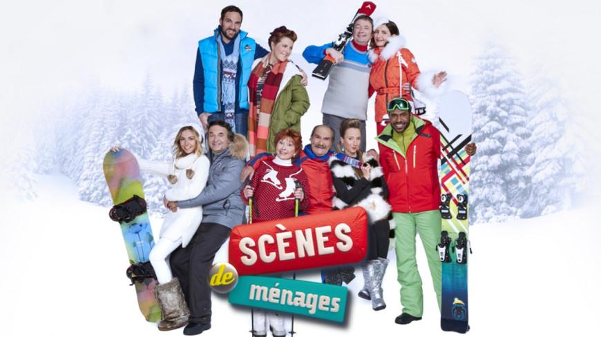 AUDIENCES TV. M6 en tête avec « Scènes de Ménages ».