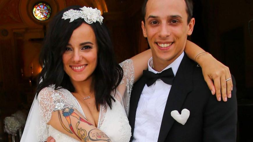(PHOTO) Alizée et Grégoire Lyonnet ont fêté leur 1 an de mariage !