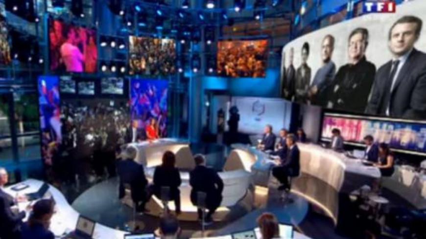 Audiences : France 2 et TF1 au coude-à-coude au premier tour