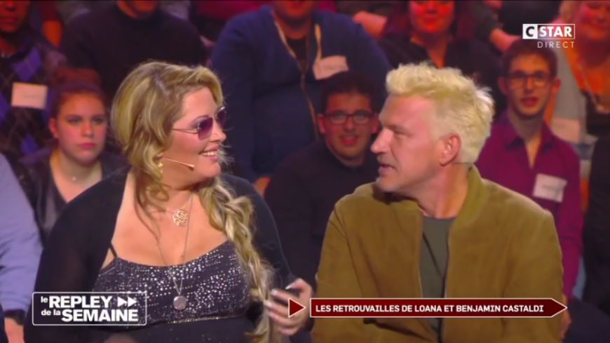 (VIDEO) 16 ans après, Loana retrouve Benjamin Castaldi.