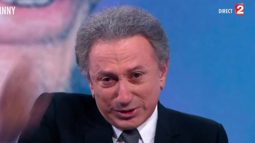 Michel Drucker craque en direct pendant la spéciale Johnny Hallyday