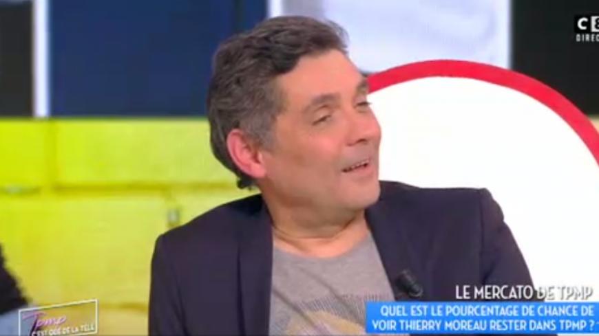 (Vidéo) Thierry Moreau quitte TPMP.