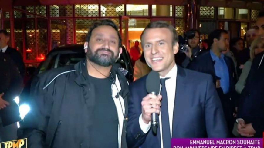 (VIDEO) Quand Cyril Hanouna interpelle Emmanuel Macron…