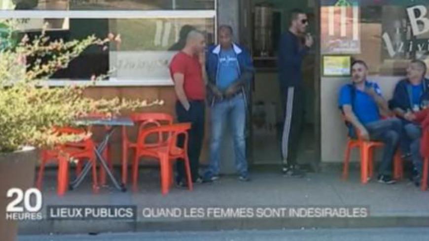 Des femmes indésirables dans un café: la journaliste de France 2 s'explique