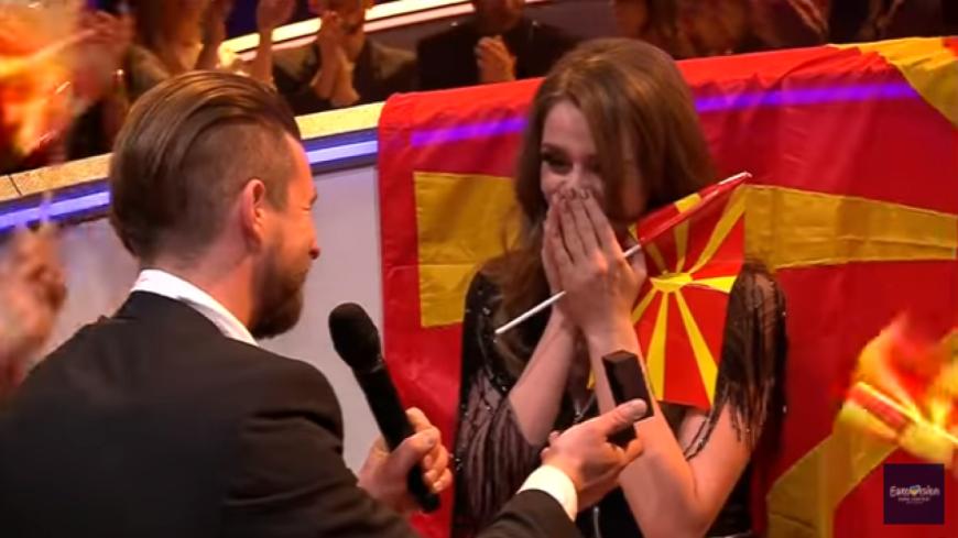 (Vidéo) Eurovision : Une demande en mariage en direct.