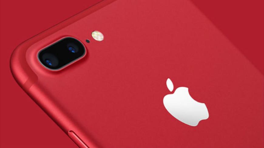 Apple va lancer un iPhone rouge