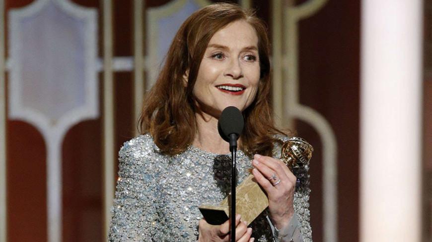 Le sacre d'Isabelle Huppert aux Golden Globe.