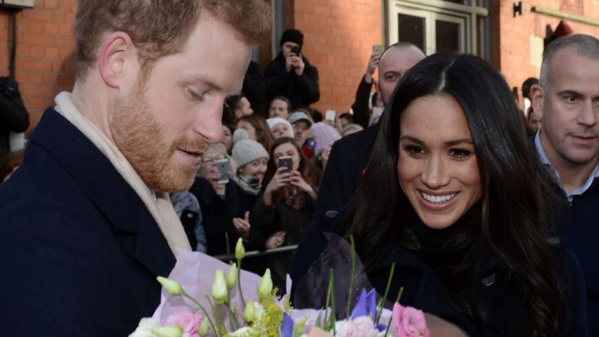 Les photos officielles des fiançailles de Meghan Markle et du prince Harry
