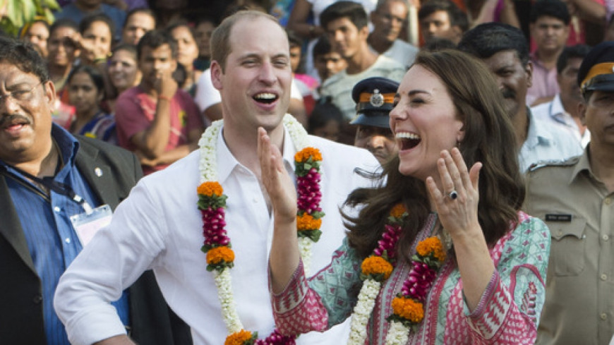 Kate et William: les photos de leur voyage en Inde !