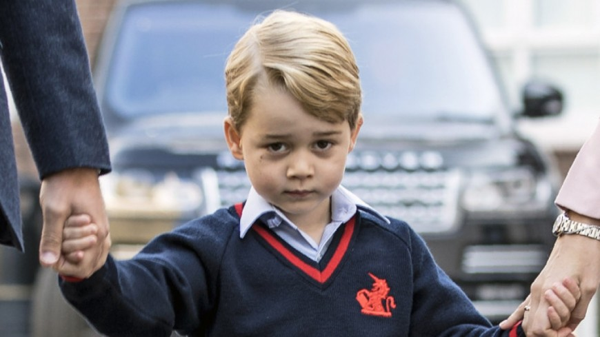 Le prince George menacé par Daech