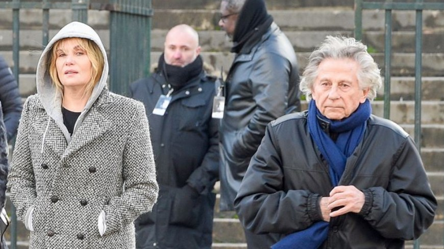 Roman Polanski refoulé de l'hommage à Johnny Hallyday : Emmanuelle Seigner en colère !