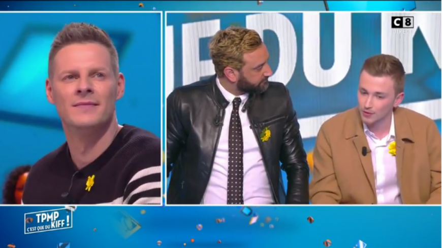 (VIDEO) Le stagiaire de « Touche Pas A Mon Poste » balance sur Matthieu Delormeau.