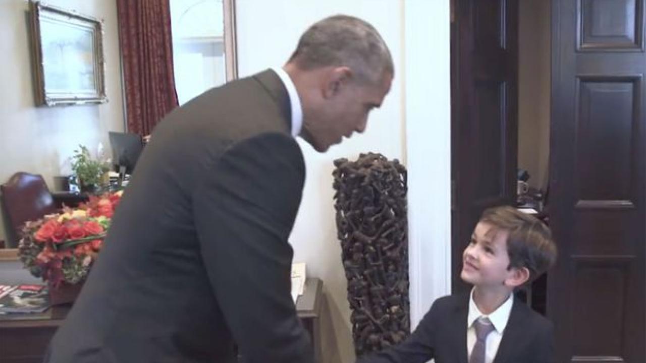 Un enfant la maison blanche for Barack obama a la maison blanche